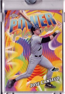 2000 TOPPS Chrome #P9 Topps Vault POWER PLAYERS Acetate Proof 1/1