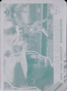 2001 Fleer Tradition Printing Plate 1/1