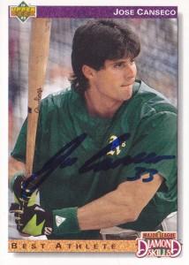 1992 Upper Deck Autograph