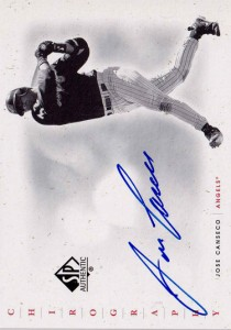 2001 SP AUTHENTIC CHIROGRAPHY AUTOgraph