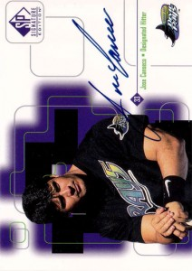 1999 SP Signature Autograph