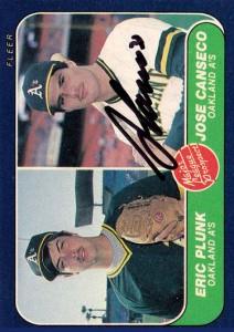 1986 Fleer Autograph