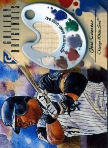 2002 TOPPS GALLERY ORIGINALS BAT