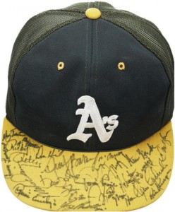 1985-86 Team Signed Oakland Athletics Cap