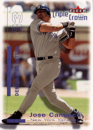 2001 Fleer Triple Crown Purple Retail