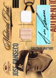 2004 Timeless Treasures Material Ink Bat/Jsy/Auto /25