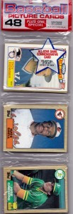 1987 Topps #620 Rack Pack White Variation