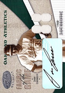 2004 LEAF CERTIFIED MATERIALS FABRIC OF THE GAME YEAR HOME JERSEY Autograph /3
