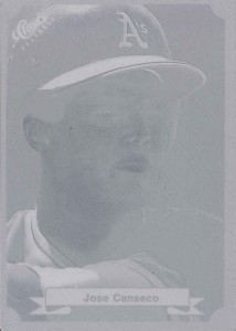 1987 Classic Green Printing Plate 1/1