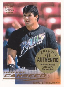 2000 Pacific Crown Collection Portrait National Sports Collector's Convention 1/1