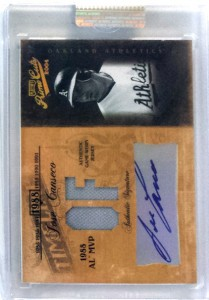2004 Playoff Prime Cuts Timeline #TL-51 Auto Jersey /5