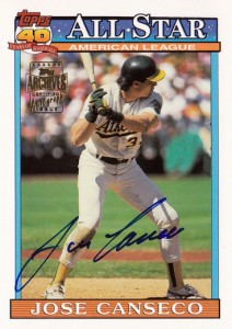 2003 Topps All-Time Fan Favorites #144 Autograph