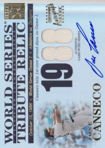 2003 Topps Tribute World Series Jersey Autograph /