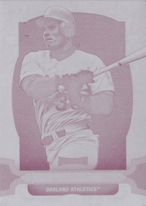2014 Topps Triple Threads Magenta Printing Plate 1/1