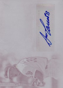 2014 Supreme Magenta Printing Plate Autograph 1/1