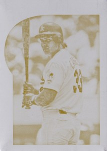 2015 Gypsy Queen #8 Printing Plate Yellow 1/1
