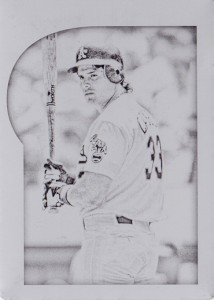 2015 Gypsy Queen #8 Printing Plate Black 1/1