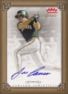 2004 Fleer Greats of the Game Autograph
