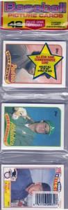 1989 Topps #500 Rack Pack