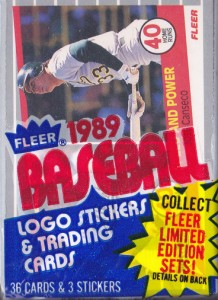 1989 Fleer #628 Cello Pack