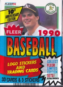 1990 Fleer #3 Cello Pack