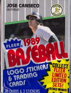 1989 Fleer #5 Cello Pack