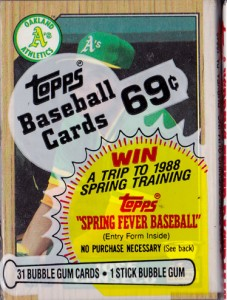 1987 Topps #620 Cello Pack