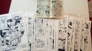 1992 Baseball Superstars Comic Original Artwork 30 Pages