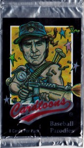 1993 Cardtoons Pack Wrapper