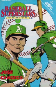 1992 Baseball Superstars Comic