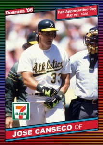1986 Donruss 7-11 Custom