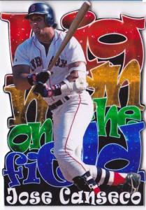 1996 Big Man on the Field Die Cut Custom