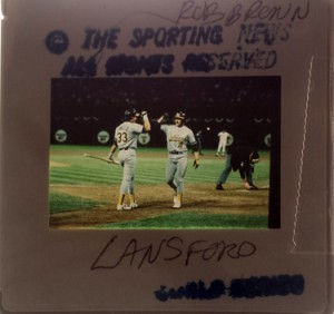 1989 Sporting News World Series Rob Brenn Original Slide