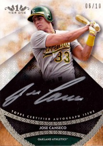 2017 Tier One Prime Performers Hitting Silver Ink Autograph /10