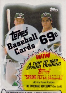 1988 Topps #759 Cello Pack