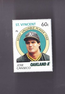 1989 ST. VINCENT STAMP VERTICAL