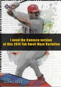 2014 TOPPS HIGH TEK SMALL MAZE / CIRCUIT BOARD