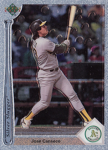 1991 Upper Deck Silver Slugger Chrome Prototype