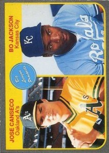 1985 Fleer Style with Griffey on back Unlicensed Broder Type