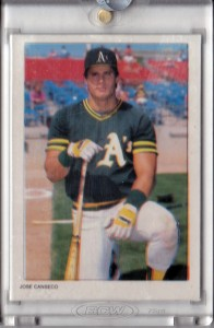 1988 Topps Glossy Send-Ins Color Key 1/1