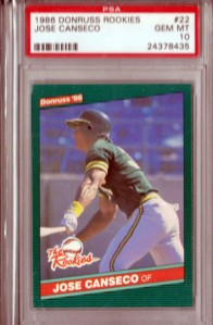 1986 Donruss The Rookies #22 PSA 10