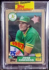 1987 Topps #620 Bubblegum Wax Relic Custom