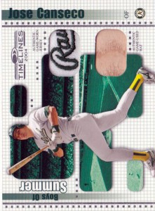 2004 Donruss Timelines Boys of Summer Dual Jersey/Bat /100 Patch Swap Custom
