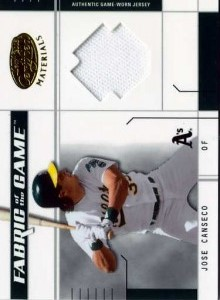 2003 Leaf Certified Fabric of the Game Jersey /100