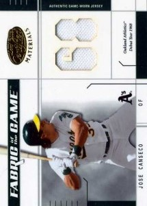 2003 Leaf Certified Fabric of the Game Jersey /68