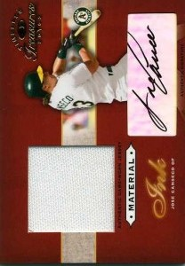 2003 Donruss Timeless Treasures Material Ink Jersey Autograph /50