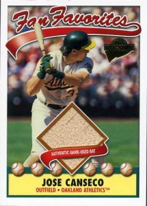 2003 Topps All-Time Fan Favorites Game Bat