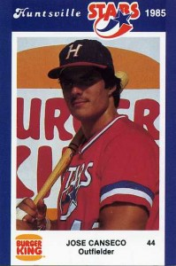 1985 Burger King Huntsville Stars Jennings