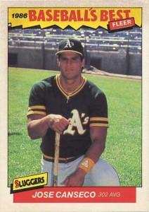 1986 Fleer Baseball's Best