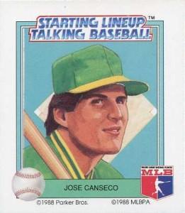 1988 Starting Lineup Talking Baseball
